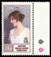 Lot 15752 [2 of 2]:1990 Queen Mother 90th Birthday SG #106-7 set. (2)