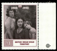 Lot 15752 [1 of 2]:1990 Queen Mother 90th Birthday SG #106-7 set. (2)