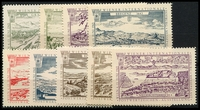 Lot 3:Austria: 1965 Wipa Stamp Exhibition set of labels. 