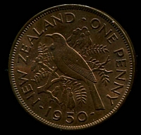 Lot 27 [2 of 2]:New Zealand: 1950 1d.