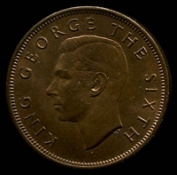 Lot 27 [1 of 2]:New Zealand: 1950 1d.