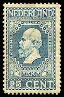 Lot 19842:1913 Centenary of Independence SG #220 25c pale blue.