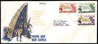 Lot 3148:1962 Fifth South Pacific Conference set tied to illustrated FDC by Lae cds 5JY 62.