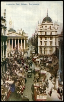 Lot 109:Great Britain: Multicoloured PPC 'London, The Royal Exchange'.