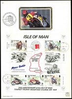 Lot 4:Motorcycles: Isle of Man 1991 80th Anniversary of 