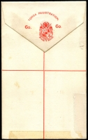 Lot 21526 [2 of 2]:1892 HG #3 6d red on white, some minor adhesion on back o/wise fine.