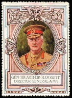 Lot 7:Great Britain: c.1916 Multicoloured label with 