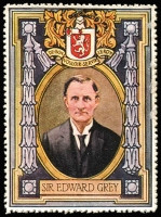 Lot 8:Great Britain: c.1916 Multicoloured label with 