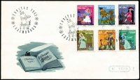 Lot 19515:1966 Welfare Fund set tied to illustrated FDC, unaddressed.