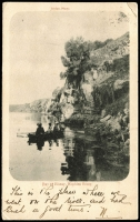 Lot 88 [1 of 2]:Australia - Victoria: Black & white PPC 'Bay of Biscay, Hopkins River' with row boat in foreground, early card with undivided back used in 1905.