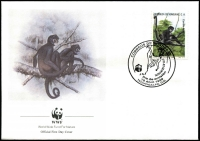 Lot 7:WWF - Honduras: 1990 Geoffroy's Spider Monkey set, 
