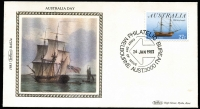 Lot 641 [2 of 2]:Benham 1983 Australia Day
