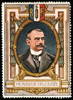 Lot 4:France: c.1916 Multicoloured label with portrait 