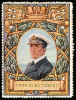 Lot 9:Great Britain: c.1916 Multicoloured label with 