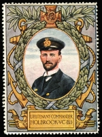 Lot 10:Great Britain: c.1916 Multicoloured label with 