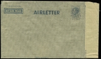 Lot 255 [2 of 5]:1944-65 Group incl 1945-50 7d BW #A3 1952 usage uprated with 3d KGVI, 1952 10d on 7d #A5 used & unused, thereafter reasonably complete and/or used including 1964 Christmas & 1965 Law Conference both with FDI cancels. Generally fine. (37)