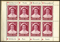 Lot 10 [1 of 3]:Belgium 1953-63 Red Cross Booklets comprising 1953 SG #SB34 x2, and 1963 #SB35 x2. Very fine condition. (4)