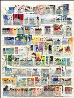 Lot 1261 [1 of 2]:East & West Germany 1950s-80s on stocksheet, untidy assortment with plenty of commemoratives. (Approx 150).
