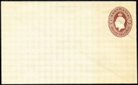 Lot 809:1928 2d Red-Brown KGV Oval CTO for UPU Distribution BW #EP33, faint band of toning, Cat $350.
