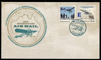 Lot 311 [2 of 6]:2014 100th Anniversary of First Airmail Group of limited edition commemorative covers, five numbered '151' (of '200'), the sixth numbered '151' (of '5000'). (6)
