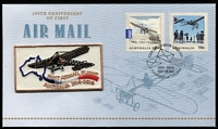 Lot 311 [3 of 6]:2014 100th Anniversary of First Airmail Group of limited edition commemorative covers, five numbered '151' (of '200'), the sixth numbered '151' (of '5000'). (6)