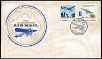 Lot 311 [1 of 6]:2014 100th Anniversary of First Airmail Group of limited edition commemorative covers, five numbered '151' (of '200'), the sixth numbered '151' (of '5000'). (6)