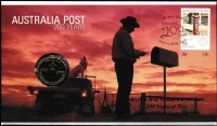Lot 2320:2009 Australia Post 200 Years PNC Limited Edition x2, overprinted for 2009 Melbourne Stampshow, numbered '09' & '208' of just 300 issued.
