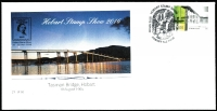 Lot 2362 [2 of 3]:2016 Hobart Supporters Pack number '12' of just 60 issued, including overprinted Year of the Monkey M/S and Tasman Bridge cover cancelled with exhibition postmark.