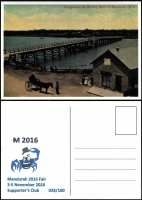 Lot 2358 [3 of 3]:2016 Mandurah Supporters Pack number '26' of just 100 issued including overprinted National Service Memorial PNC; also commemorative Duyfken Replica ship covers x2 signed by ship's captain.