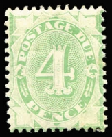 Lot 824 [1 of 4]:1902-04 Design Completed Wmk Crown/NSW Compound Perf Selection with mint ½d x3, 3d (no gum), 4d x2 (one Watermark inverted) & 6d; duplicated used including 4d x5, 5d x2, 8d, 10d, 1/- x4, 2/- x3, 5/- x4, some stamps Watermark inverted; mostly fine, Cat $1,000+. (41)