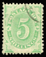 Lot 822 [1 of 3]:1902 Blank At Base Selection with mint ½d x2, 2d, 3d (toning) & 6d; used ½d x2, 1d x3, 2d x3, 3d, 4d, 6d x2, 8d & 5/-, several Watermark inverted including 2d, generally fine, Cat $800+. (19)