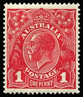 Lot 1066 [1 of 2]:½d To 4½d ex 1d Red Die II but including Die III, mostly well centred, fresh MUH, Cat $1,000+. (21)