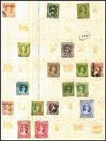 Lot 9:Balance Of A Consignment with Australia KGV 1d Red 
