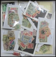 Lot 18:British Commonwealth mostly KGV to early QEII issues in stockpack and in cello, including Barbados, Bermuda, Cyprus, Hong Kong, Jamaica, KUT, Mauritius, North Borneo, Seychelles, Sierra Leone, South Africa, NZ with 10/- Arms postally used, etc. May reward careful viewing.