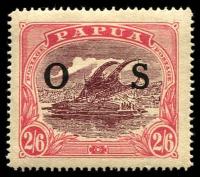 Lot 1034 [1 of 3]:1931-32 Overprinted 'OS': ½d to 2/6d set SG #O55-66, with ½d, 1d, 4d (one wmk Crown left of 'A') & 2/6d shades, fine mint, Cat £190+. (16)