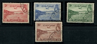 Lot 858 [2 of 4]:1938-41 Selection comprising 1938 Declaration set used SG #158-62, 1939 Airs 2d to 1/6d sets #163-68 mint & used, Cat £185. (17)