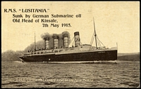 Lot 92 [1 of 5]:Ships - British Liners: predominantly unused black & white cards plus some phototographs with representations from Union Castle Line, Orient Line, White Star (including Olympic, Titanic & Lusitania cards), Royal Mail, Cunard, P&O, Canadian Pacific, Elder Dempster, etc. Generally fine. An impressive collection. (260+)