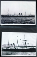 Lot 97 [3 of 4]:Ships - Shaw Savill, NZ Shipping & White Star Lines: selection of mostly black & white photos (few PPCs) with vendor's annotations indicating the year the ship was built and year it was scrapped, sold or wrecked/sunk. Generally fine condition. (115)