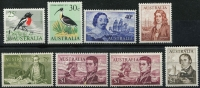 Lot 612 [2 of 3]:1966-71 QEII Defintives 1c to $4 set including both perfs of $1 Flinders, SG #382-403 & 401a, fresh MUH, Cat £160. (26)