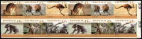 Lot 656:1994-97 Kangaroos & Koalas Second Reprint 45c block of 12 (6x2) Imperforate, vertical crease between 1st & 2nd columns, MUH. Unlisted by Brusden White and of uncertain status.