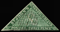 Lot 1191 [1 of 5]:1857-98 Selection with imperf 1857 1d Crown & Heraldic Flowers unused x3 (all small blemishes/faults), 1860 3d green Triangle used, 1862-64 6d rose-lake used, perforated 1865-70 Yellowish paper 24c QV unused, White paper 2c, 10c x2 & 12c x2 used, 1868-73 perforated 1c Type I x2 unused, 1c Type II x2 unused & 5c Seal used, roulettted 1c x2 (one unused) & 2c x2, 1880-82 used set (extra 2c) plus unused 1c x2 & 2c x2, 1887 New Colours used set (ex 5c) and unused to 3c, 1898 Reissues 2c unused; condition variable, however many are fine, high catalogue value. (56)