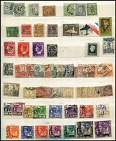 Lot 26 [2 of 3]:European Array In Stockbook mostly older/middle period with selection from France, Italy & San Marino, Luxembourg, Monaco, Mozambique, Netherlands & Neth Indies, Norway, Portugal, Slovenia, Switzerland; also some Australia, Iran, Iraq & Liberia. (100s)