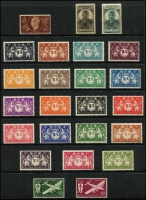 Lot 33 [1 of 3]:French Colonies Assortment mostly French Africa on 45 Hagners in ringbinder with more extensive selections from Cameroun, French Guiana & Guadeloupe, plus Chad, Congo, Djibouti with imperfs to 1fr used, Gabon, Inini, Middle Congo, Obock, Somalia, Ubangi Chari and Wallis & Futuna; many large-part long sets to high denominations sighted often with just a few key values absent e.g. French Guyana 1929-39 Pictorials Guadeloupe 42 of 43 values mostly mint, 1928-40 Pictorials 41 of 42 values mostly mint, etc. Attractive and thematically appealing. (100s)