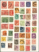 Lot 68 [2 of 4]:World Array in 3 albums (one almost empty) and loose, noting China, GB & Russia, some modest pickings, mixed condition. (100s)