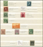 Lot 63 [3 of 4]:World Selection Of First (No.1) Issues with British Commonwealth including British Honduras 1865 1d pale blue mint, Hong Kong 1862-63 2c used, Ionian Islands 1859 (½d) orange unused, Maldives 1906 2c KEVII used, King Edward VII Land (opt on NZ) 1d used, South Australia imperf 1d dark green (small corner fault); foreign material includes France 1849-52 10c Ceres used (with RPSofL Certificate noting defects), German States No1s for Baden, Oldenburg & Wurtemburg, Italian States No1s for Parma & Romagna unused & Modena used, Netherland Indies 1864 10c; mixed condition especially 1850-60s issues, high catalogue value.