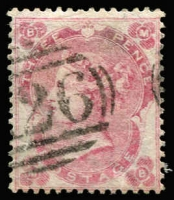 Lot 1359 [1 of 4]:1859-84 Issues large selection with 1d red SG #Z18 x3, 1d red plates #Z19 x4, 2d blue #Z22, 2½d rosy mauve Z26 x4, 2½d blue #Z27 x3 & Z28 x5, 3d carmine-rose #Z29, 4d rose #Z35, 4d vermilion #Z37 x6, 4d vermilion Pl 15 #Z38, 4d sage-green #Z39 x3, 4d grey-brown #Z41 x2, 6d lilac #Z42 x5, #Z43 x9, #Z44 x3, Z46 x6, 6d buff #Z47 x4, 6d chestnut #Z48 x2, 6d grey Z49 & Z50 x2, 9d pale straw #Z57, 10d red-brown #Z58 x2, 1/- green #Z59 x2, #Z62, #Z63 x3 & #Z64 x2; also few 1880-84 values including 2d lilac #Z79; condition variable, many are fine, Cat £5,000+. (84)