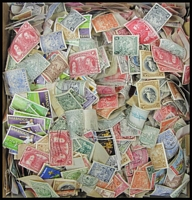 Lot 98:Barbados 0.25kg of 1890s-1960s issues off-paper with a fair proportion of mint issues sighted. Interesting lot from a popular country. (Many 100s)