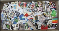 Lot 23:Great Britain 0.20kg of high value commemoratives on small sized single paper. Excellent variety of issues. (100s)