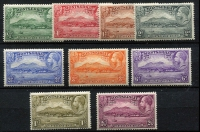 Lot 1451 [2 of 2]:1932 Anniversary of Settlement ½d to 5/- set SG #84-93, fresh MUH, Cat £160+. (10)