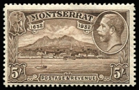 Lot 1451 [1 of 2]:1932 Anniversary of Settlement ½d to 5/- set SG #84-93, fresh MUH, Cat £160+. (10)